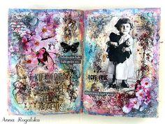13arts - Art Journal #mixedmedia #13arts #artjournal