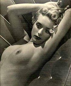 Horace Roye - Nu mélancolique, ca. 1950