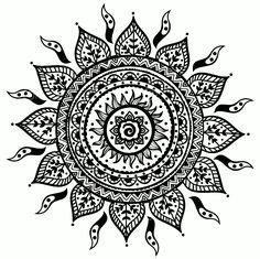 татуировка мандала и солнце: 17 тыс изображений найдено в Яндекс.Картинках