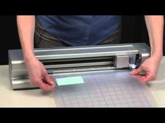 How to use the Zing Digital Cutter to make Crystal Designs - YouTube