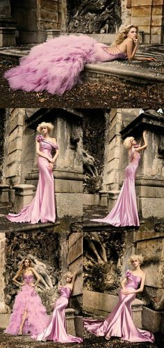 Beyond pretty pink mermaid...S shape and sexy to death. What do ya'll think ha.