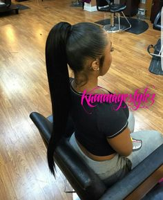 All types of human hair weaves, natural hair wigs, monofilament hair extensions and synthetic wigs. Hair weave products for truly natural hairstyle. Baddie Hairstyles, Black Girls Hairstyles, Ponytail Hairstyles, Weave Hairstyles, Fall Hairstyles, Updos, Hair Ponytail, American Hairstyles, Straight Hairstyles
