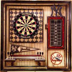 New York Yankees single dartboard.