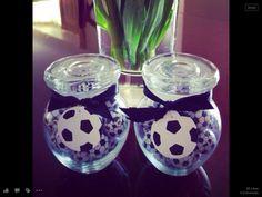 Boys party treats!  Soccer lover