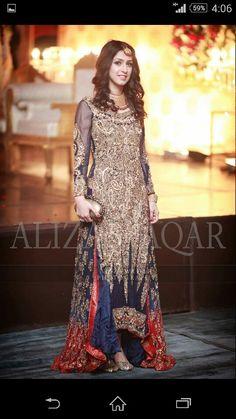 Best Pakistani Fancy Dresses To Wear On Wedding - Pakistani Lawn Suit Pakistani Fancy Dresses, Fancy Wedding Dresses, Pakistani Wedding Dresses, Pakistani Outfits, Indian Dresses, Pakistani Kurta, Wedding Wear, Party Dresses, Pakistani Couture