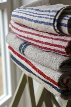 Antique linen grain sacks Linen Bedding, Linen Fabric, Shibori Fabric, Linens And More, French Fabric, Textiles, Grain Sack, Natural Linen, Weaving