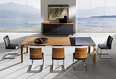 10 Easy Cool Tips: Rustic Dining Furniture Home Decor dining furniture ideas modern.Outdoor Dining Furniture Pergolas dining furniture makeover how to paint. Contemporary Dining Table, Modern Dining Room Tables, Dining Room Sets, Dining Table Chairs, Modern Table, Arm Chairs, Modern Contemporary, Dining Room Furniture Design, Outdoor Dining Furniture