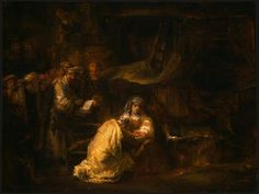 The Circumcision - Rembrandt - Completion Date: 1661