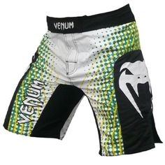 Venum Electron Brazil Edition MMA Fightshorts - Ice