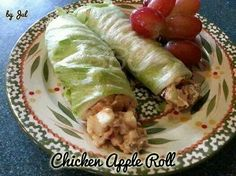 Chicken roll with a difference