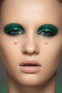 Photographer — Marina & Artem (www.photoma.ru),  make-up artist — Vera Shevi, model — Svetlana Egorova at Chkalova Evgenia Model Agency  #fashion #beauty #makeup