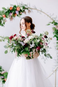 sophisticated floral designs portland oregon wedding florist floral hoop round arbor moon gate arch (19).jpg