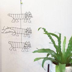 ワイヤークラフト/ラサラーソン/壁/天井のインテリア実例 - 2015-09-17 07:29:16   RoomClip(ルームクリップ)