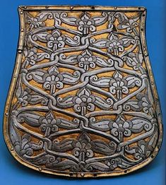 """""""Tree of Life"""" design on an ancient Magyar tarsoly plate."""