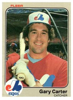 1983 Fleer Gary Carter Montreal Expos
