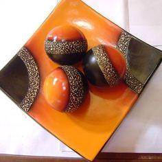 Adorno de ceramica al frio para sala Modelo: centro de mesa para sala estilo…