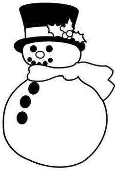 blackline christmas coloring pages - photo#11