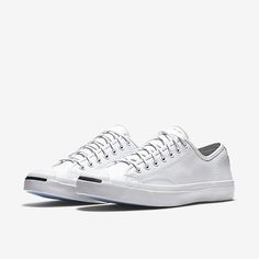 557875049fa0 Converse - Jack Purcell Tumbled Leather Low Top Unisex Shoe