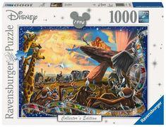 Puzzle 1000 p - le roi lion (collection disney) Thomas Kinkade Disney, The Lion King, Disney Lion King, Ravensburger Puzzle, Disney Puzzles, Puzzles For Kids, Disney Stars, Disney Collector, The Collector