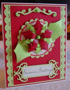 Spellbinders Ideas   Christmas cards made using Spellbinder Dies by: snowyowls
