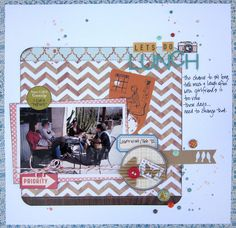 Love this layout by Norine Borys.