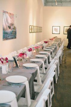 Modern Wedding at Flanders Art Gallery #wedding #flanders #modern_wedding Full story found at: www.orangerieevents.com/blog & Photography by Julie Livingston Photography