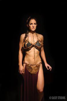 Elegant Princess Leia Cosplay for a More Civilized Age