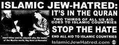 """O Fracassado Cartaz de Ônibus da Filadélfia: """"Ódio Islâmico aos Judeus"""""""
