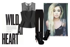 """""""Wild at Heart"""" by gabbs-18 on Polyvore featuring moda, McQ by Alexander McQueen, BOSS Hugo Boss, JY Shoes, women's clothing, women's fashion, women, female, woman y misses"""