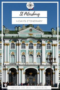 Discover St Petersburg in Russia with this perfect 4 days itinerary! Visit the houses of Tsars and find out the best places to eat!