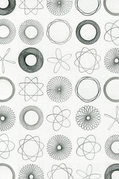 Spirograph..loved it as a kid...hours of entertainment! My cousin was in the navy and whenever I visited my aunt's house I couldn't wait to get his Spirograph out. RIP Ramsay...
