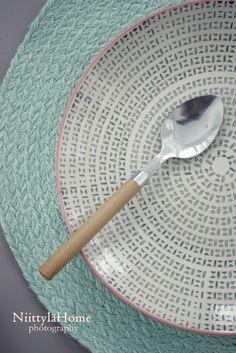 Bambulook aterimet - Niittylä Home Inspiration, Biblical Inspiration, Inhalation, Motivation