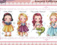 Fairy Tales Characters cross stitch patterns and kits snow