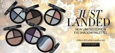 NEW! Limited Edition Eye Shadow Palettes www.bejeweledbeauty.com