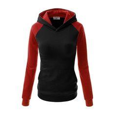 Hooded Collar Cuff Sleeve Black Sweatshirt (220 SEK) ❤ liked on Polyvore featuring tops, hoodies, sweatshirts, jackets, black, pullover hoodie, sweatshirt hoodies, cotton hoodie, hooded pullover sweatshirt and hoodie pullover