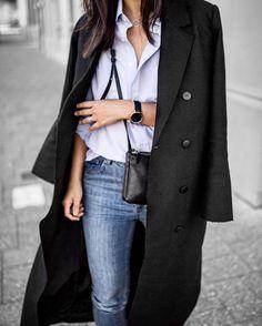 "Minimal Style & Life - Perth on Instagram: ""Men's shirts and sleek jackets #uniform Wearing: coat from @jazandalex and @aninebing jeans Shop this post via @liketoknow.it www.liketk.it/2mzPJ #liketkit"""