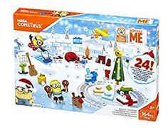 Mega Construx Despicable Me 3 Minions Advent Calendar for sale online Different Holidays, Holidays With Kids, Countdown Till Christmas, Christmas Holiday, 3 Minions, Minions Quotes, Minion Banana, Minion Pumpkin, Despicable Me 3