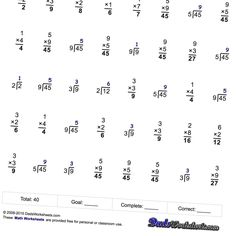 Number Pattern Worksheets That Focus On Multiplication Patterns