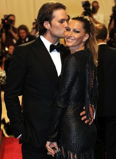 Gisele and Tom at the MET Gala 2010