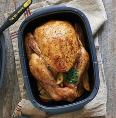In charge of Thanksgiving for a crowd on the smaller side this year? Prepare a turkey in about 2½ hours in the ultra-durable, ultra-awesome UltraPro Roasting Pan.