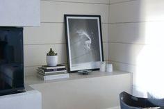 talo markki -modern grey fireplace