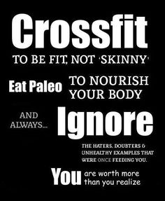 Putting Crossfit into perspective #Crossfit #Paleo #Fitness