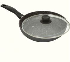 Stoneline PFOA Free Nonstick Stone Cookware - Large 11' Diameter Fry Pan w/ Lid *** Click image for more details.