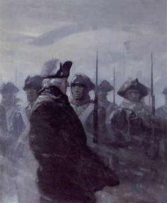 NC Wyeth - Washington at Valley Forge