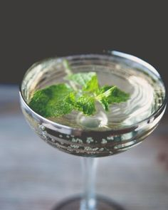 """9 Signature Cocktail Ideas: An Old Cuba. """"If a mojito and Champagne cocktail got together for a night of rumba, the Old Cuban would be the result,"""" said Kitchy Kitchen's Claire Thomas."""