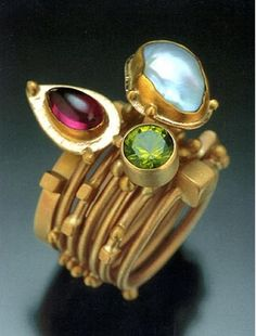Love unusual rings like this!
