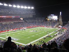 Gillette Stadium.amazing place to see a game