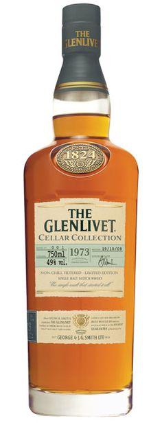 Classic, yet modern whisky bottle for this The Glenlivet. Better than most bottles used by The Glenlivet.
