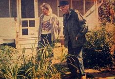 Kurt Cobain and William S. Burroughs