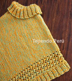 Crochet scarf for kids diy 56 New Ideas Crochet Lace Edging, Crochet Poncho Patterns, Knitted Poncho, Knitting Patterns, Baby Blanket Crochet, Crochet Baby, Knit Crochet, Crochet Christmas Gifts, Crochet Hat For Women